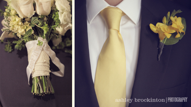 A Dapper North Carolina Garden Wedding via TheELD.com