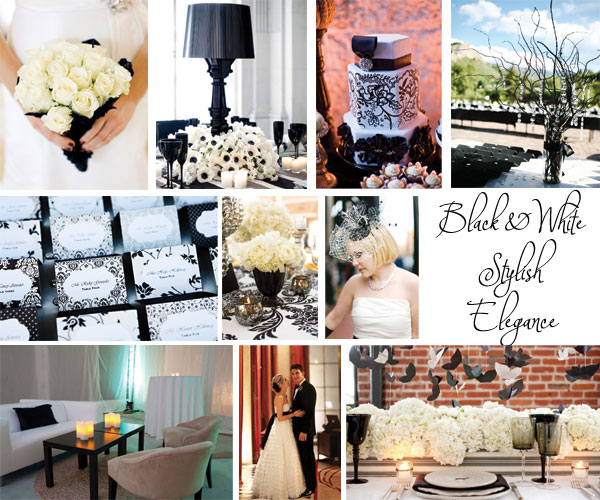 Inspiration Board: Black & White Stylish Elegance via TheELD.com
