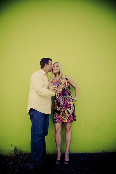 A Sweet (literally) Engagement Session via TheELD.com