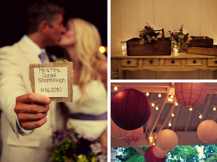 Rustic Vintage Tennessee Wedding via TheELD.com