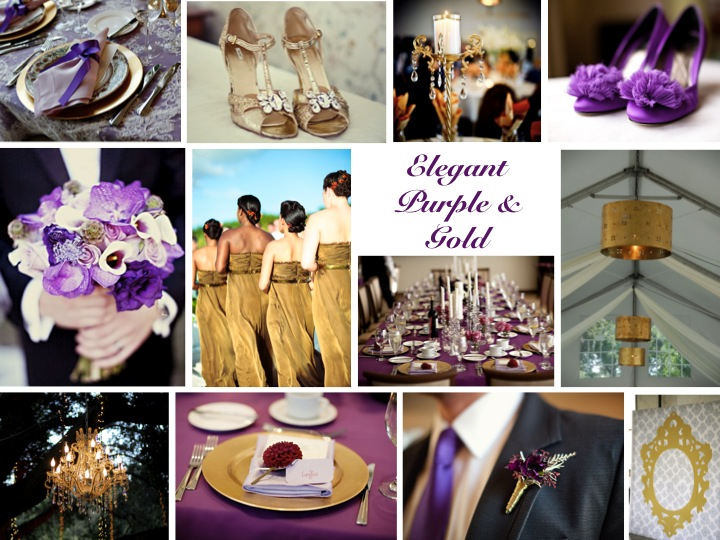 Inspiration board elegant purple gold every last detail inspiration board elegant purple gold via theeld junglespirit Image collections