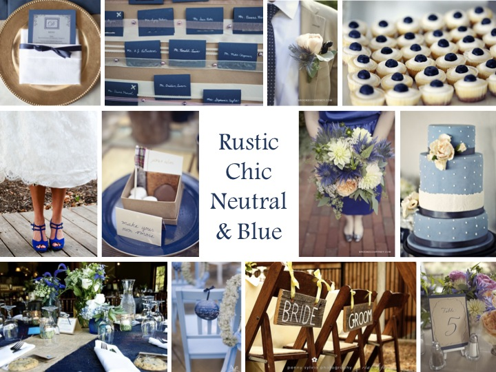 Rustic Chic Neutral Blue Via TheELD
