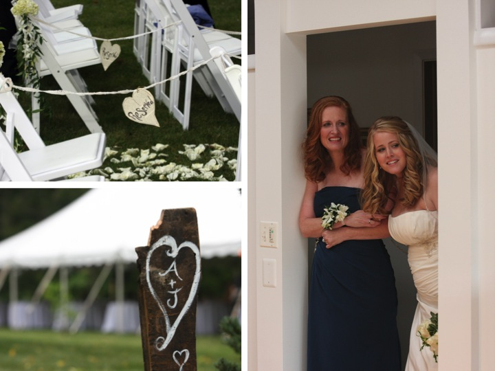 Detailed Rustic Illinois Wedding via TheELD.com