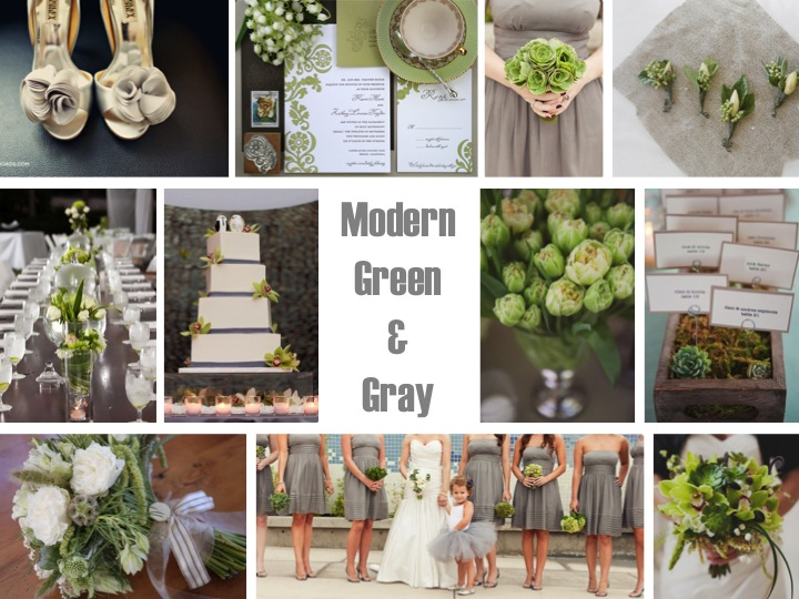 Inspiration Board Modern Green Gray Via Theeld