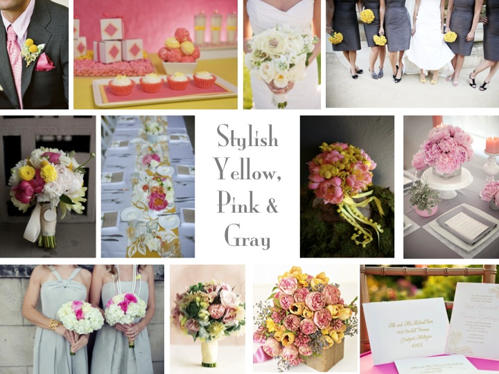 Results for Pink Yellow And Grey Wedding Colors