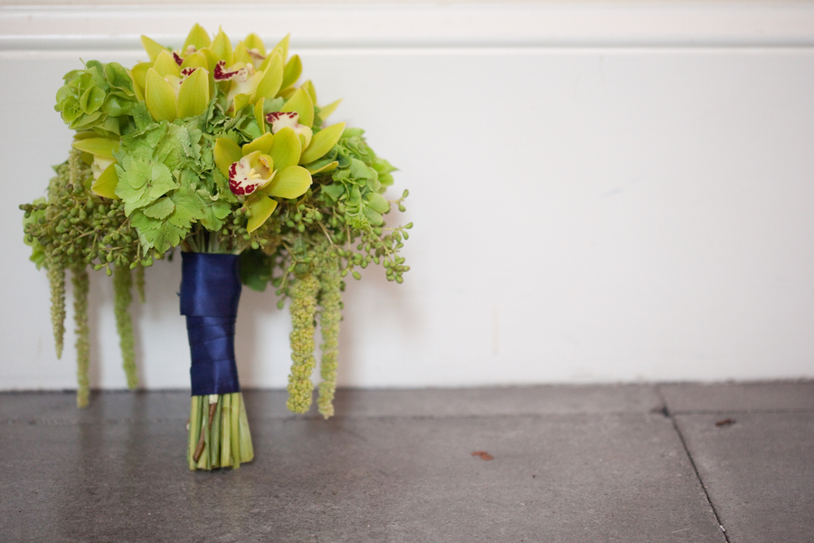 Modern Blue & Green Florida Wedding via TheELD.com
