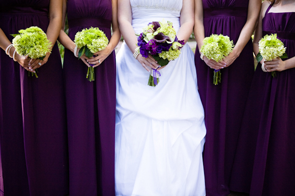 Purple Green Florida Wedding Part 1 Via