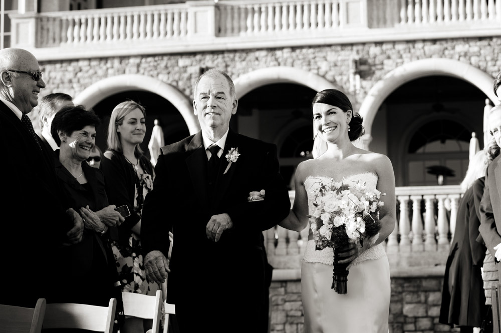 Elegant Green & Brown Florida Wedding via TheELD.com