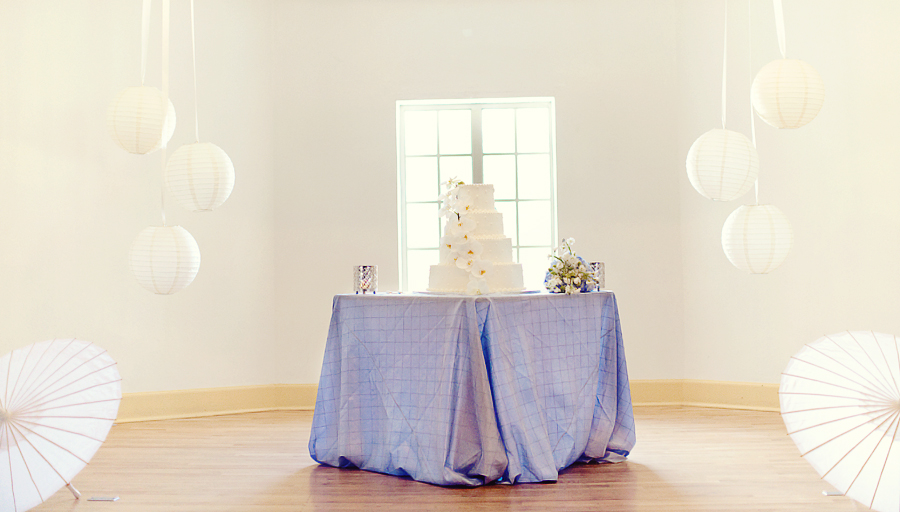 Blue & Green Garden Wedding via TheELD.com