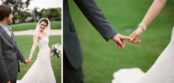 Classic Blue Florida Wedding via TheELD.com