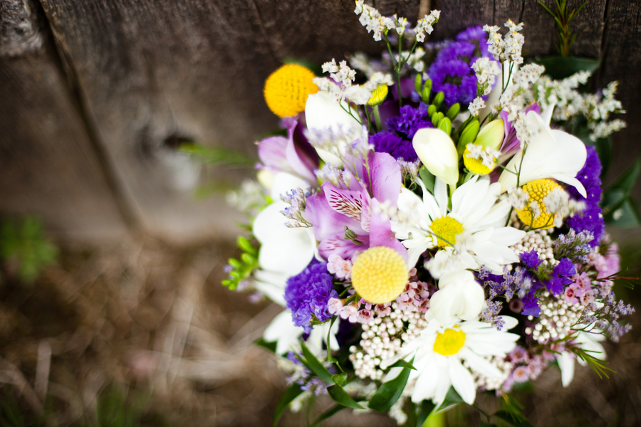 Purple yellow eclectic spring wedding every last detail purple yellow eclectic spring wedding via theeld mightylinksfo