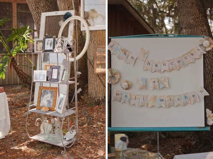 Vintage Eclectic Florida Wedding {Part 2} via TheELD.com