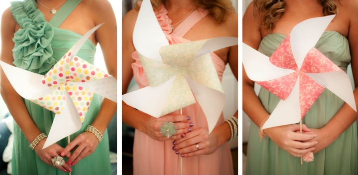 Eclectic Beach Wedding By Caroline & Evan Photography via TheELD.com