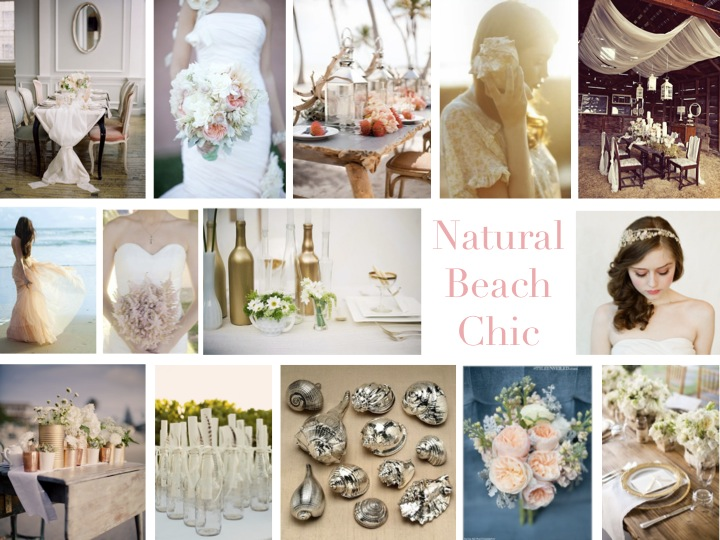 Inspiration Board: Natural Beach Chic via TheELD.com