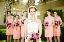 Classic pink and purple wedding 9-1