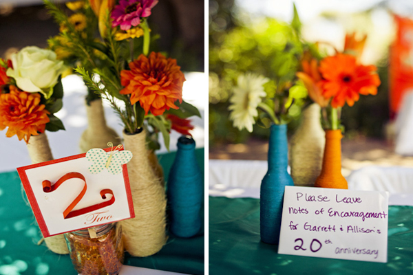 Colorful DIY San Luis Obispo Wedding via TheELD.com