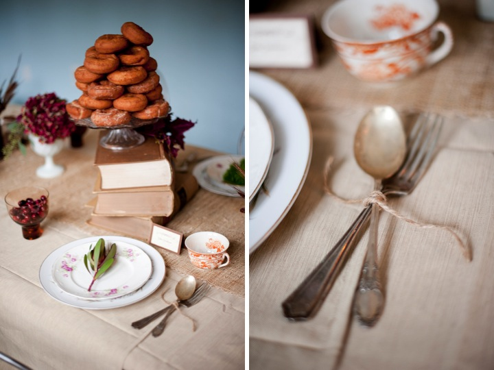 Happy Thanksgiving! Enjoy A Sweet Fall Tablescape! via TheELD.com