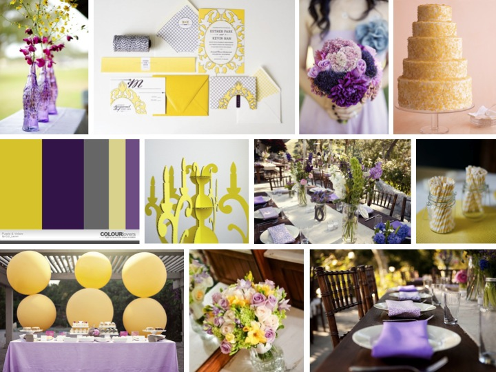 Inspiration Board Eclectic Purple Yellow Via Theeld