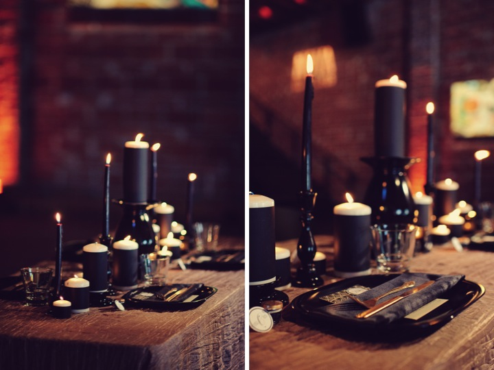 Modern Black & Taupe Inspiration Shoot via TheELD.com