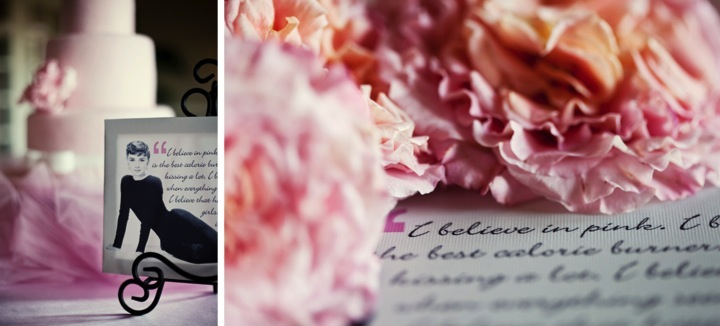 Stylish & Eclectic Pink Florida Wedding via TheELD.com