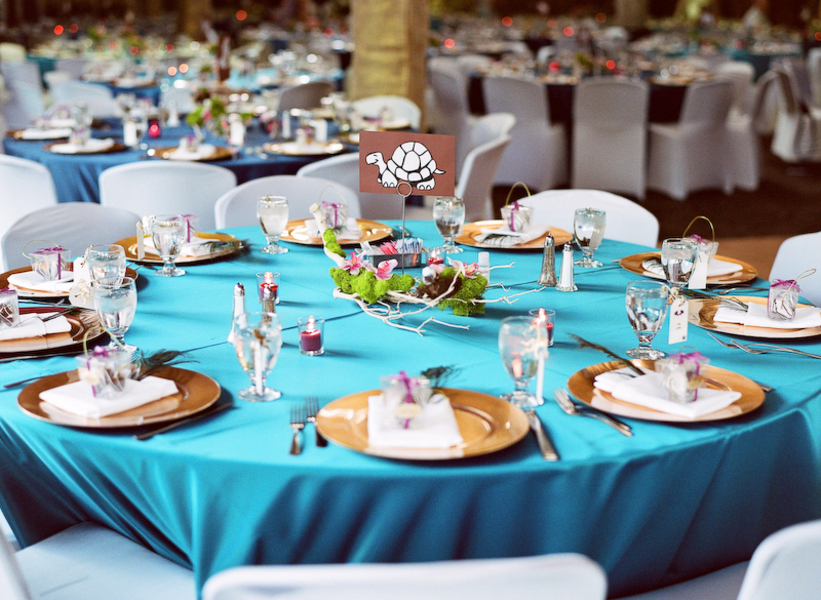 Purple and Blue Seattle Zoo Wedding {Part 2} | Every Last Detail