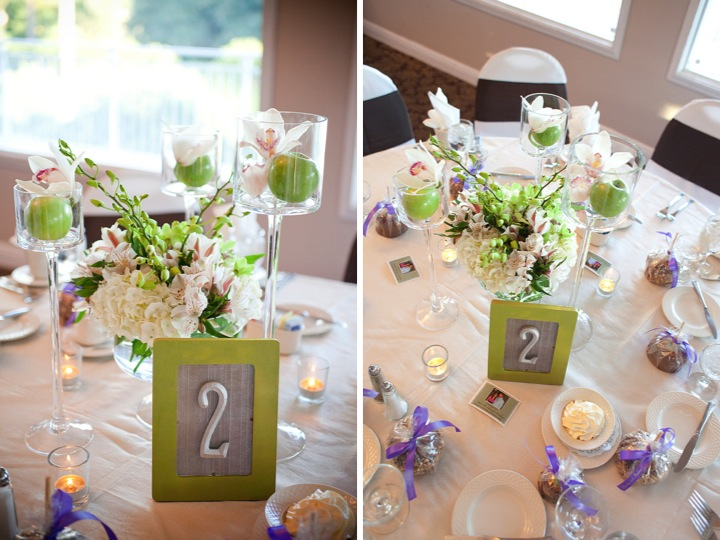 Elegant green and purple wedding every last detail elegant green and purple wedding via theeld junglespirit