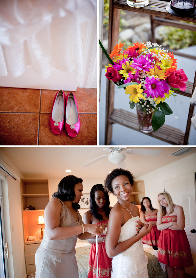 Rustic DIY Florida Wedding via TheELD.com