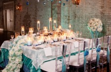 Ombre wedding inspiration 1