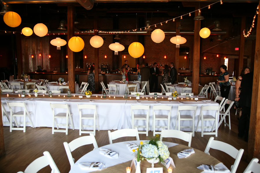 Yellow And Blue Rustic Elegant Wedding