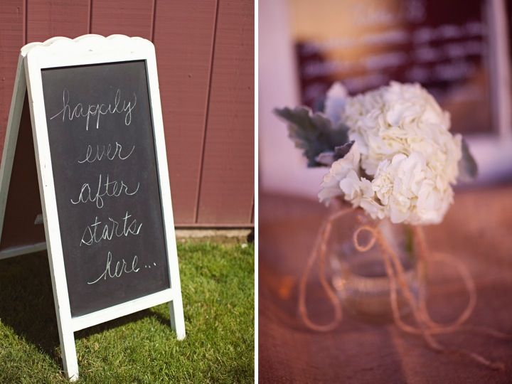 Yellow Rustic Chic Wedding via TheELD.com