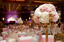 Elegant pink and gold wedding 12