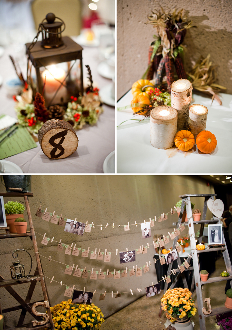 Rustic diy fall wedding every last detail rustic diy fall wedding via theeld junglespirit Images