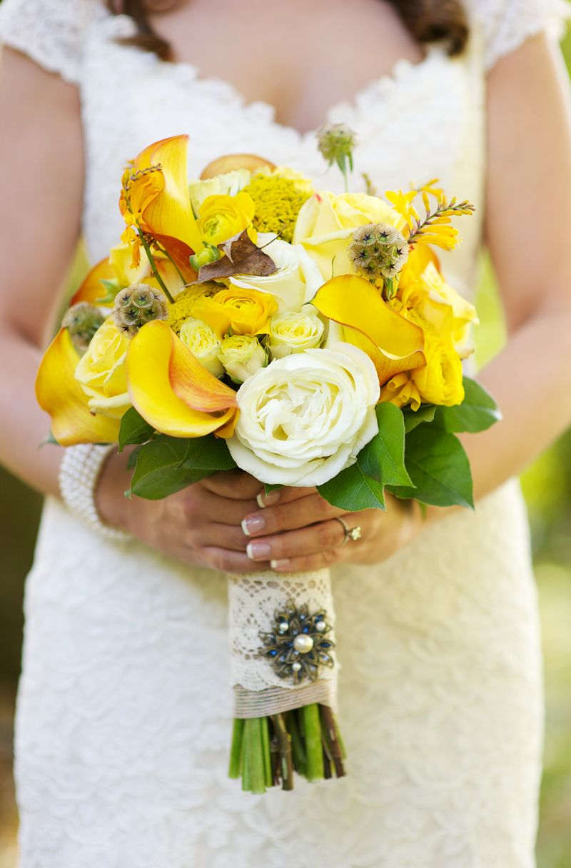 Rustic chic yellow gray wedding every last detail rustic chic yellow gray wedding via theeld mightylinksfo