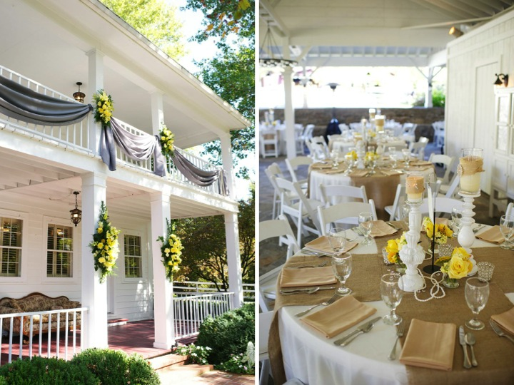 Rustic chic yellow gray wedding every last detail rustic chic yellow gray wedding via theeld junglespirit