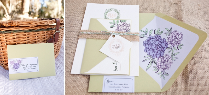 Southern Picnic Wedding Inspiration Shoot via TheELD.com
