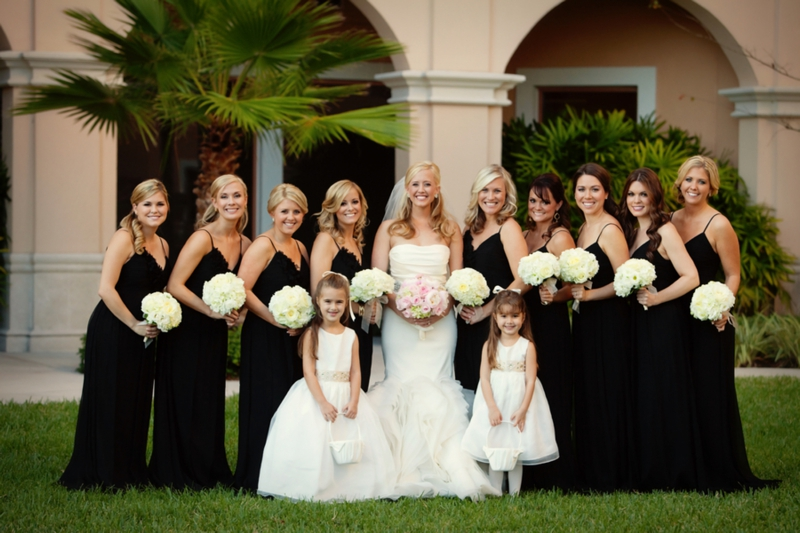 Elegant Black White Blush Wedding Every Last Detail