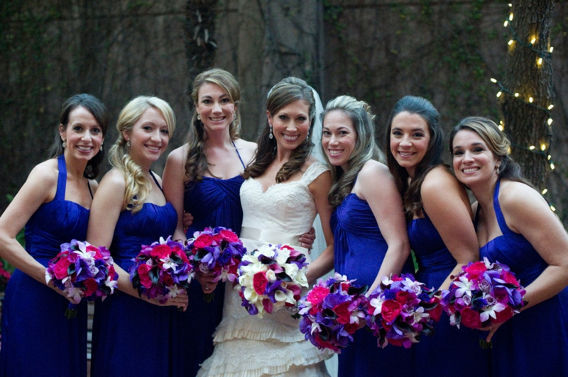 Elegant Purple & Red New Orleans Wedding | Every Last Detail