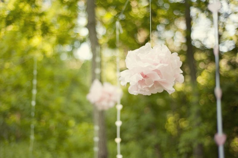 Dainty Pink Vintage Wedding Inspiration via TheELD.com