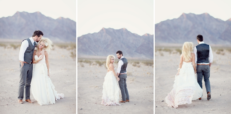 Modern Cobalt Blue & Plum Wedding Inspiration via TheELD.com