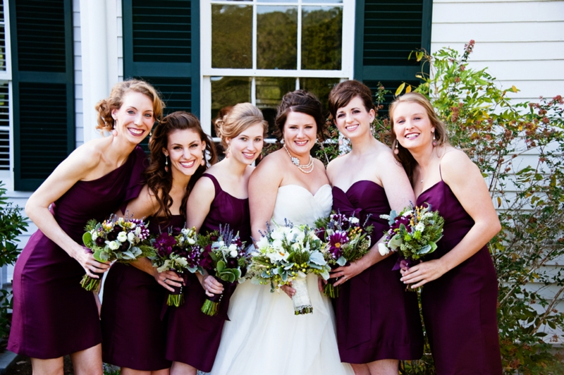 Purple, Green & Gray Plantation Wedding - Every Last Detail