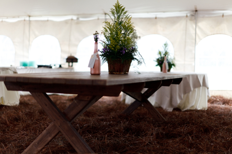 Rustic Florida Farm Wedding via TheELD.com