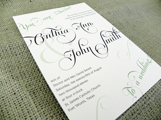 What Should My Wedding Invitation Say: Every Last Detail