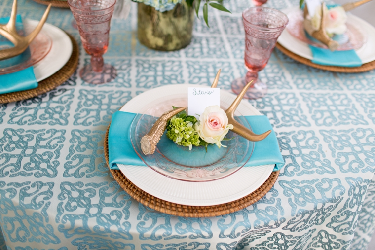 Rustic Boho Chic Wedding Inspiration via TheELD.com