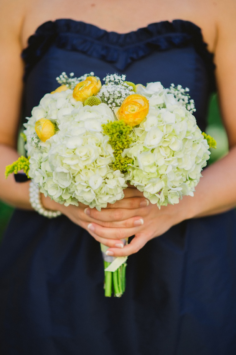 Rustic Chic Navy and Yellow Wedding via TheELD.com